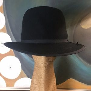 NWT Tall Felt Bowler Hat Large